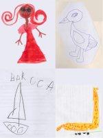 disegnare a 5 anni